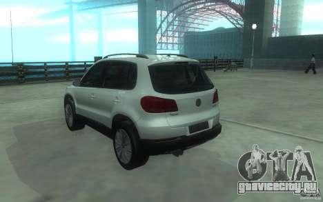 Volkswagen Tiguan 2012 для GTA San Andreas вид слева
