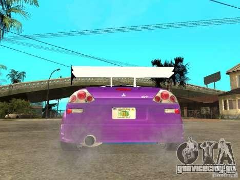 Mitsubishi Spider для GTA San Andreas вид сзади слева