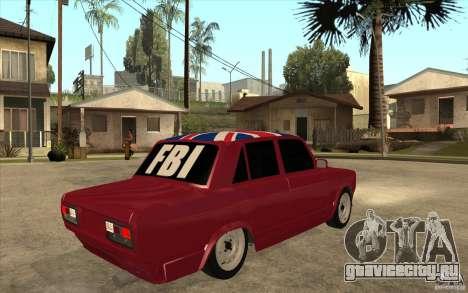 ВАЗ 2107 Бродяга v.2 для GTA San Andreas вид справа