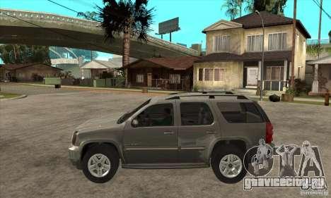 GMC Yukon 2008 для GTA San Andreas вид слева