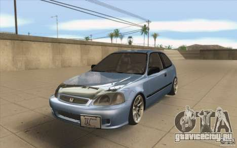 Honda Civic EK9 JDM v1.0 для GTA San Andreas
