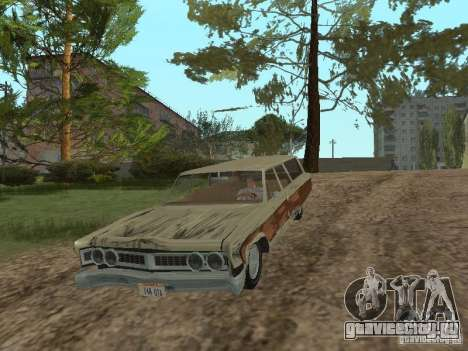 Chrysler Town and Country 1967 для GTA San Andreas вид изнутри