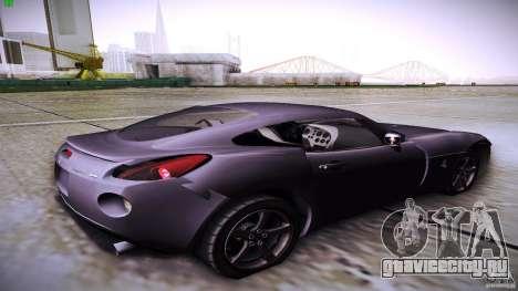 Pontiac Solstice для GTA San Andreas вид слева