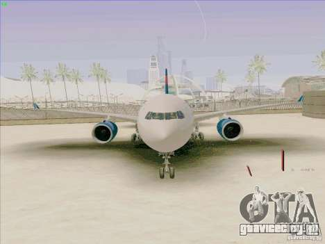 Airbus A330-200 для GTA San Andreas вид справа