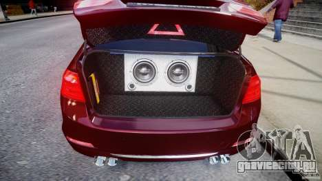 BMW 335i 2013 v1.0 для GTA 4 вид изнутри