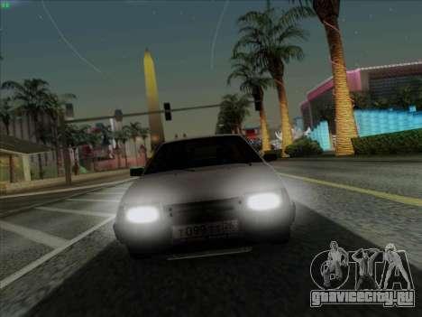 ВАЗ 21099 Сток для GTA San Andreas вид справа