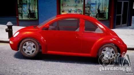 Volkswagen New Beetle 2003 для GTA 4 вид слева