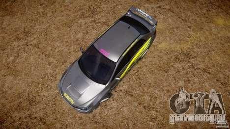 Subaru Impreza WRX STi 2011 Subaru World Rally для GTA 4 салон