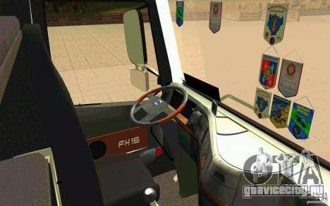 Volvo FH16 Globetrotter TRANSALLIANCE для GTA San Andreas вид справа