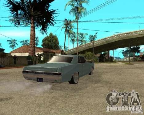 PONTIAC GTO 65 для GTA San Andreas вид сзади слева