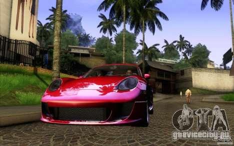 Ruf RK Coupe V1.0 2006 для GTA San Andreas вид справа