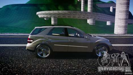 Mercedes-Benz ML 500 v1.0 для GTA 4 вид изнутри