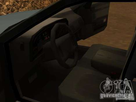 Mercury Sable GS 1989 для GTA San Andreas вид сзади