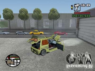 ОКА 1111 (Тюнинг) для GTA San Andreas вид справа