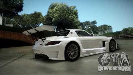 Mercedes-Benz SLS AMG GT3 для GTA San Andreas вид сзади