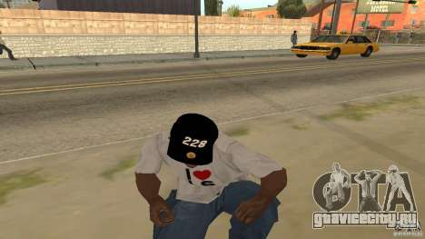 Кепка 228 для GTA San Andreas