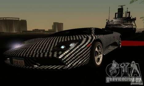 Lamborghini Murcielago для GTA San Andreas вид сверху