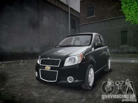 Chevrolet Aveo LT 2009 для GTA 4 вид сверху