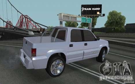 Cavalcade FXT из GTA 4 для GTA San Andreas вид слева