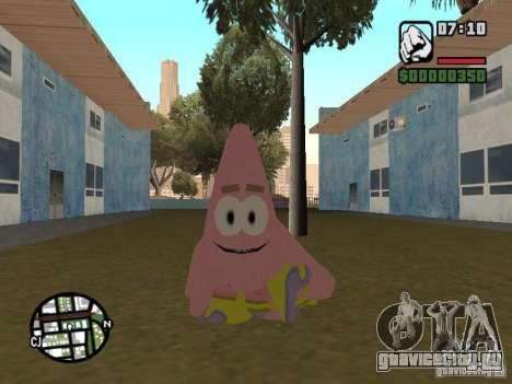 Patrick для GTA San Andreas шестой скриншот