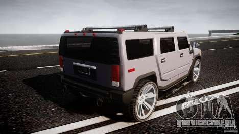 Hummer H2 для GTA 4 вид сверху