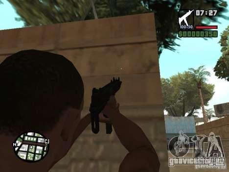 UZI для GTA San Andreas второй скриншот