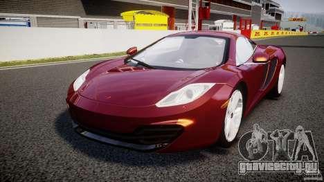 McLaren MP4-12C [EPM] для GTA 4