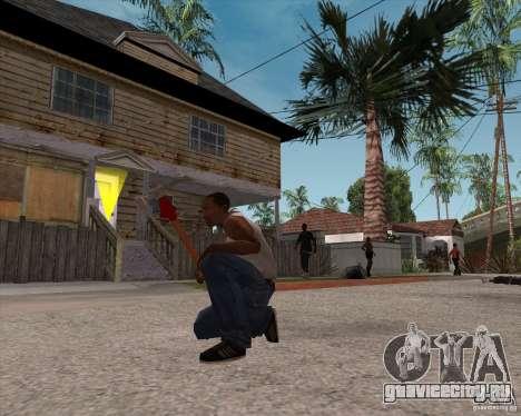 Молот из Assassins Creed Brotherhood для GTA San Andreas третий скриншот