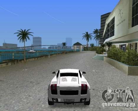 Lamborghini Gallardo для GTA Vice City вид слева