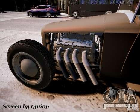 Roadster High Boy для GTA 4 вид сзади слева
