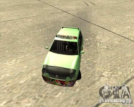 Volkswagen Lupo Hellaflush для GTA San Andreas вид слева