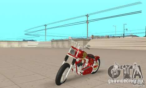 Orange County old school chopper Sunshine для GTA San Andreas