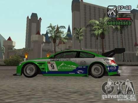 Alpina B6 GT3 для GTA San Andreas вид слева