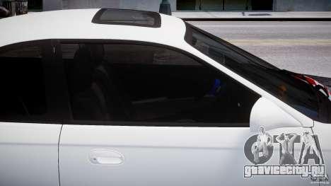 Honda Civic Si 1999 JDM [EPM] для GTA 4 вид сверху