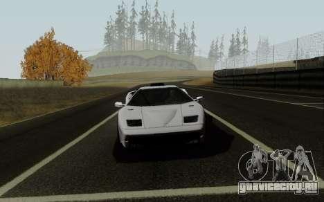 Lamborghini Diablo GTR TT Black Revel для GTA San Andreas вид справа