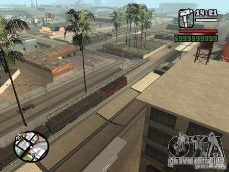 Тепловоз ТЭП-60 для GTA San Andreas вид сзади слева
