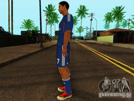 Криштиану Роналду v2 для GTA San Andreas третий скриншот