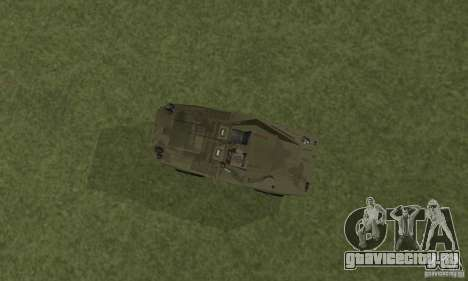 БРДМ-1 Скин 3 для GTA San Andreas вид сзади