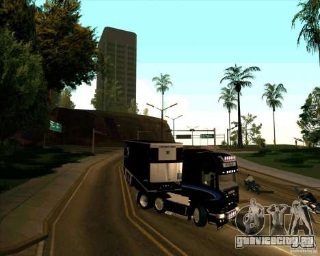 Scania R620 Pimped для GTA San Andreas вид справа