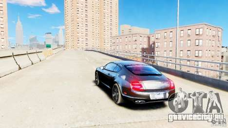 Bentley Continental SuperSports v2.5 для GTA 4 вид сзади слева