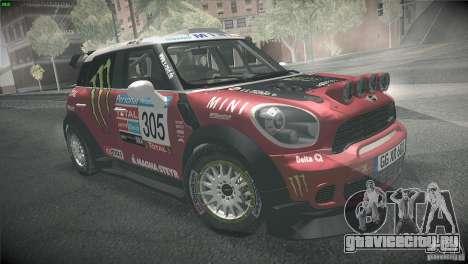 Mini Countryman WRC для GTA San Andreas вид справа