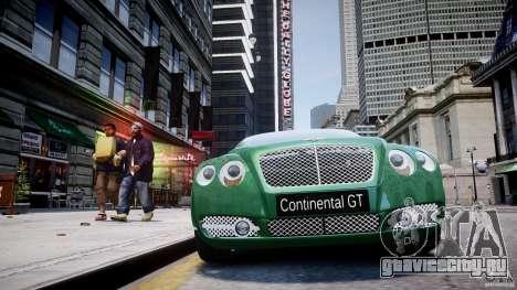 Bentley Continental GT для GTA 4