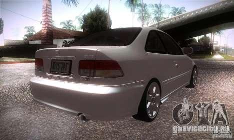Honda Civic Si для GTA San Andreas вид справа