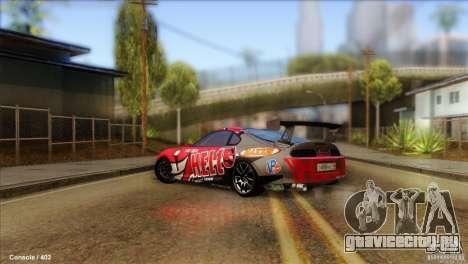 Toyota Supra HELL для GTA San Andreas вид слева