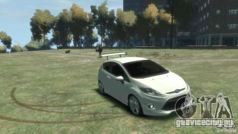 Ford Fiesta для GTA 4 вид справа