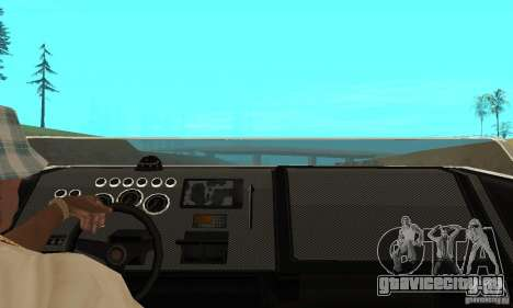 GTAIV TBOGT Smuggler для GTA San Andreas вид справа