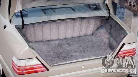 Mercedes-Benz W124 E500 1995 для GTA 4 вид сбоку