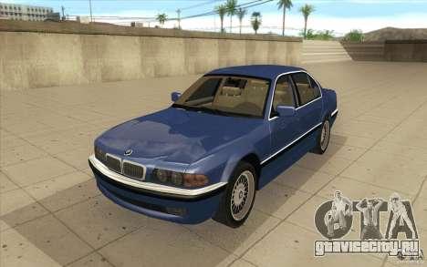 BMW 750iL 1995 для GTA San Andreas