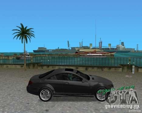 Mercedess Benz CL 65 AMG для GTA Vice City вид справа
