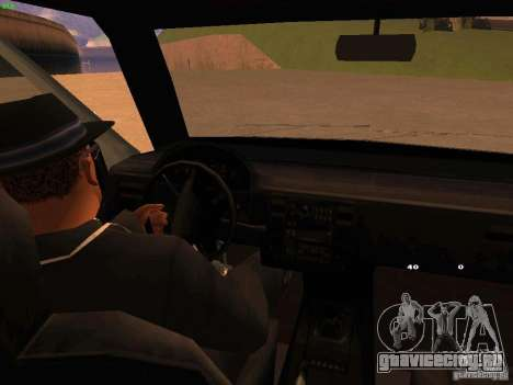 Moonbeam NN для GTA San Andreas вид изнутри